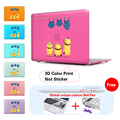 Lovely Minions Jeans Cartoon Matte Hard Notebook Case For Apple Macbook Air 11 Case Pro13 15