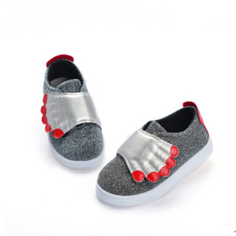 The spring of 2016 the new children's shoes The boy girl magic shoes Leisure fashion shoes(China (Mainland))