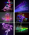 Promotion Price Mini 2W 2000mW RGB animation laser light projector Xmas Party lights professional laser software