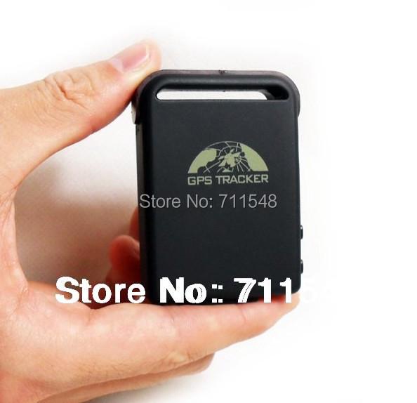 Free shipping Coban Real time tracking GPS /GSM/GPRS Car Tracker TK102B SOS Voice monitor Car Charger Quad-band Waterproof bag