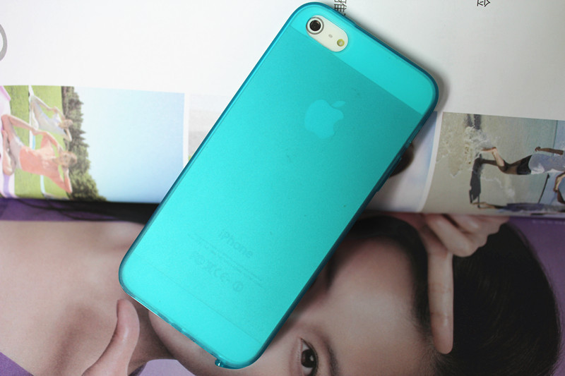 4S Phone Accessories TPU Soft Silicone Case For iphone4 4s 5 5s matte semi transparent Protector Skin Multifunctional Dust Plug