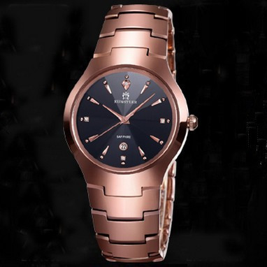 New Tungsten Steel Ultra Thin Diamond Men Watches Waterproof For Business Yellow and Rose Gold Silver Montre Relogio masculino<br><br>Aliexpress