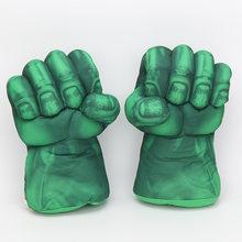 26 cm Os Vingadores Super Herói Homem De Ferro homem Aranha Luvas Hulks boxe Luvas Luvas Crianças Presentes brinquedos de pelúcia(China)