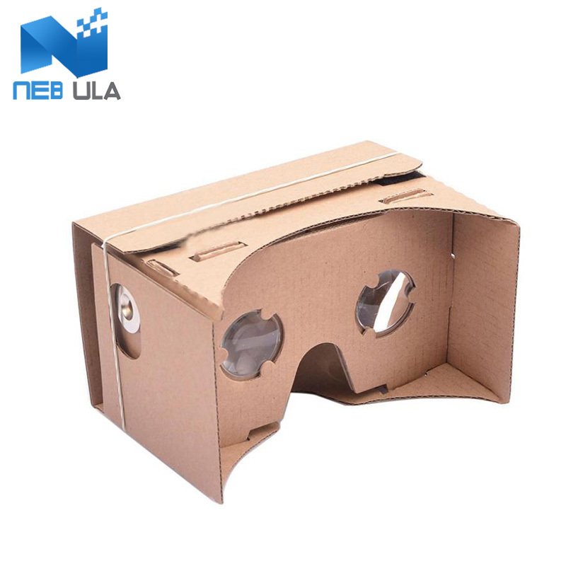 """HOT High quality DIY Google Cardboard Virtual Reality VR Mobile Phone 3D Viewing Glasses for 5.0"""" Screen Google VR 3D Glasses(China (Mainland))"""