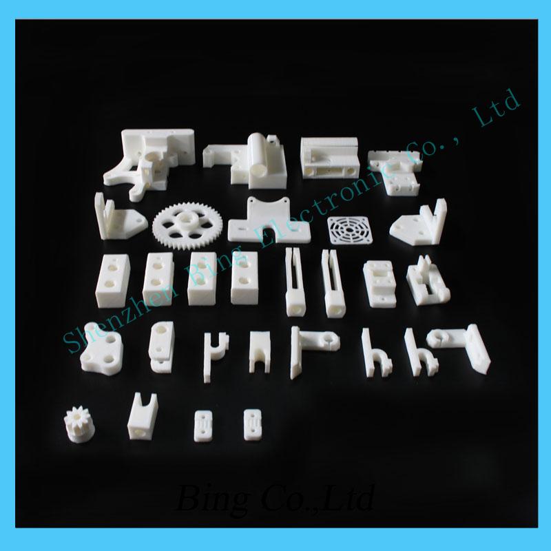 Free Shipping 1 set RepRap Prusa Mendel i3 PLA plastic Parts Kit DIY Prusa i3 Acrylic