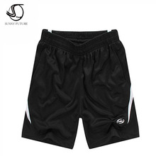 2016 New Brand Fashion Mens Shorts Black High Quality Summer Casual Short trousers Plus Size M-4XL(China (Mainland))