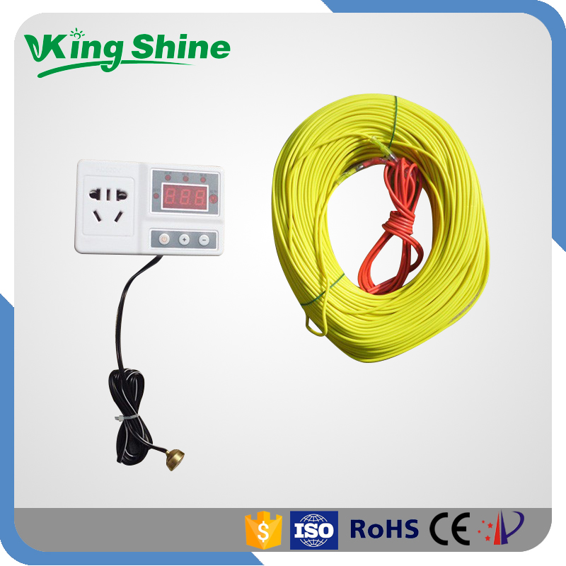 Electric Soil Heating Cable : Meters electric soil heating cable kw thermostat