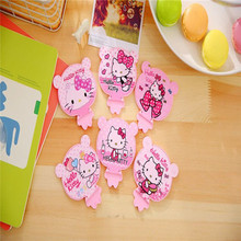 hello kitty multifunction cell phone holder multifunction portable small mirror with comb(China (Mainland))