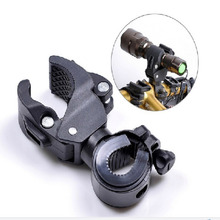 Buy Outdoor Sports Cycling Flashlight Mount Holder Bikes Torch Holder Support Clip Clamp Lantern Bicycle Accessories for $2.39 in AliExpress store