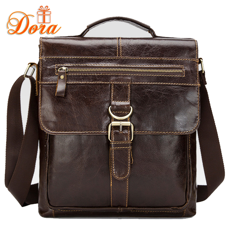 Genuine leather men bag cowhide leather men briefcase high quality famous brand shoulder bags Business messenger bag 2016 new(China (Mainland))