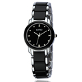 2016 Luxury KIMIO Ladies Dress Quartz Watches Relogio Feminino Gorgeous Round Dial Analog Imitation Ceramic Wristwatch