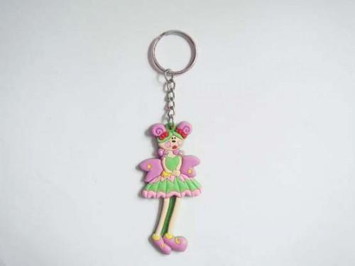 compass promotional girly keychain gift soft PVC Keyrings tag Customized cartoon made keychains perosnalized keyrings(China (Mainland))