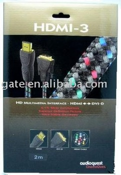 Free Shipping Worldwide Cinemaquest HDMI-3 Cable HDMI New in Box 2m