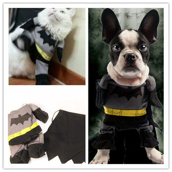 Batman Pet Dog Costume Apparel Cat Outfit Clothing Clothes Costumes Apparel Pet Products