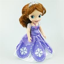 Retail 2015 Princess Animators Sharon Doll Princess Sofia Snow White Ariel Rapunzel Merida Cinderella Aurora for Girl(China (Mainland))