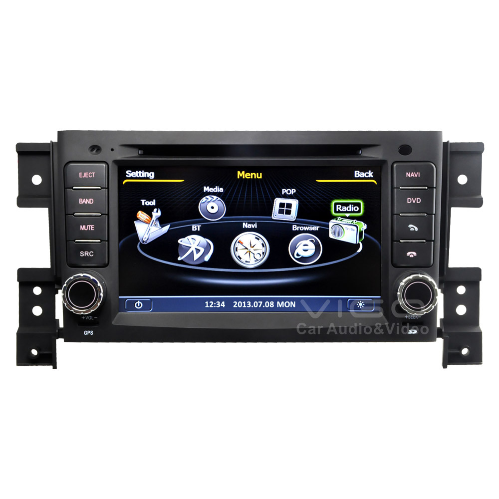 Car stereo systems with bluetooth and navigation