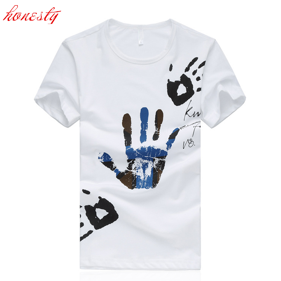 Men Summer Short Sleeve T-shirts Brand Plus Size 5XL 6XL Black White Casual Tees 2016 New Homme Slim Fit Cotton T shirts SL-S013(China (Mainland))
