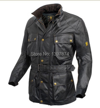 waterproof jacket men trialmaster legend waxed jacket i am legend roadmaster waxed cotton jacket(China (Mainland))