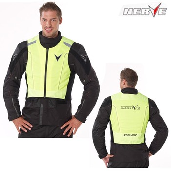 Nerve - quality motorcycle clothing reflective clothing high visibility jacket vest accessor