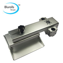 Z axis build plate for DLP SLA 3D printer parts DIY Form Z axis aluminum build platform kit Gray anodized