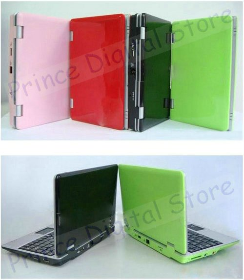 "Drop shipping support - Windows CE 7.0 OS 7"" portable laptop, Pocket netbook minibook with Webcam WiFi 3G extra(China (Mainland))"