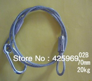 High Quality Stage Light Steel Safety Rope, Best Price Stage Light Steel Safety Cable(China (Mainland))