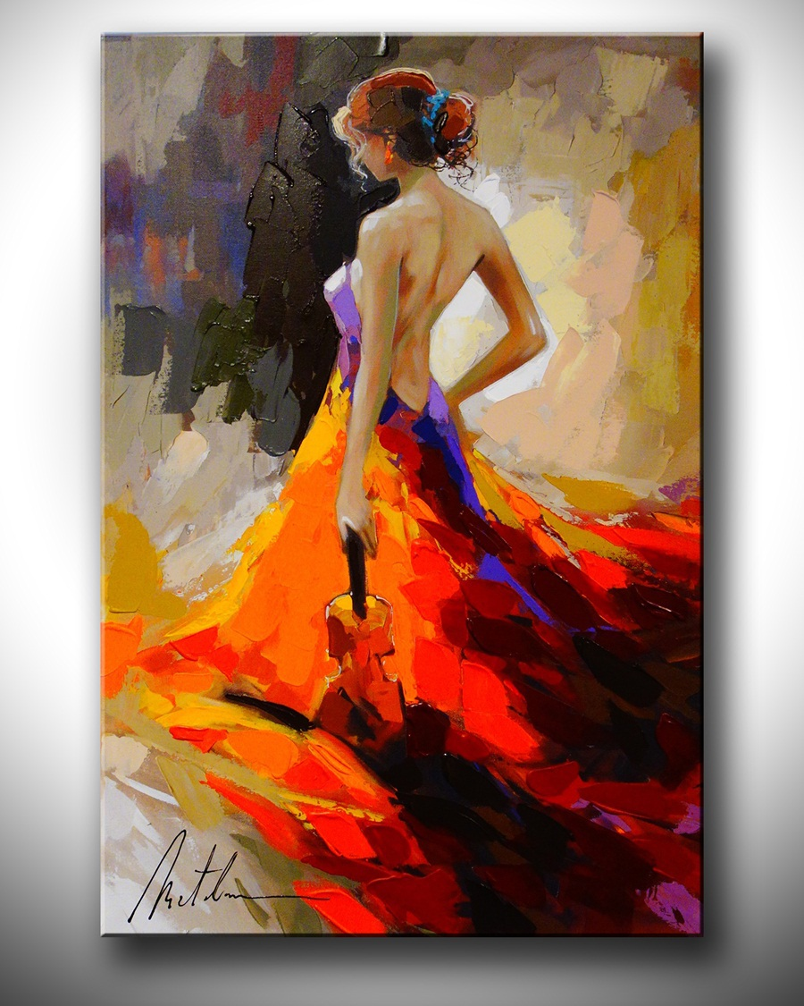 store product Wholesale oil painting Nude Sexy Female Lady Woman Modern Wall Decor Art Oil Painting On Canvas