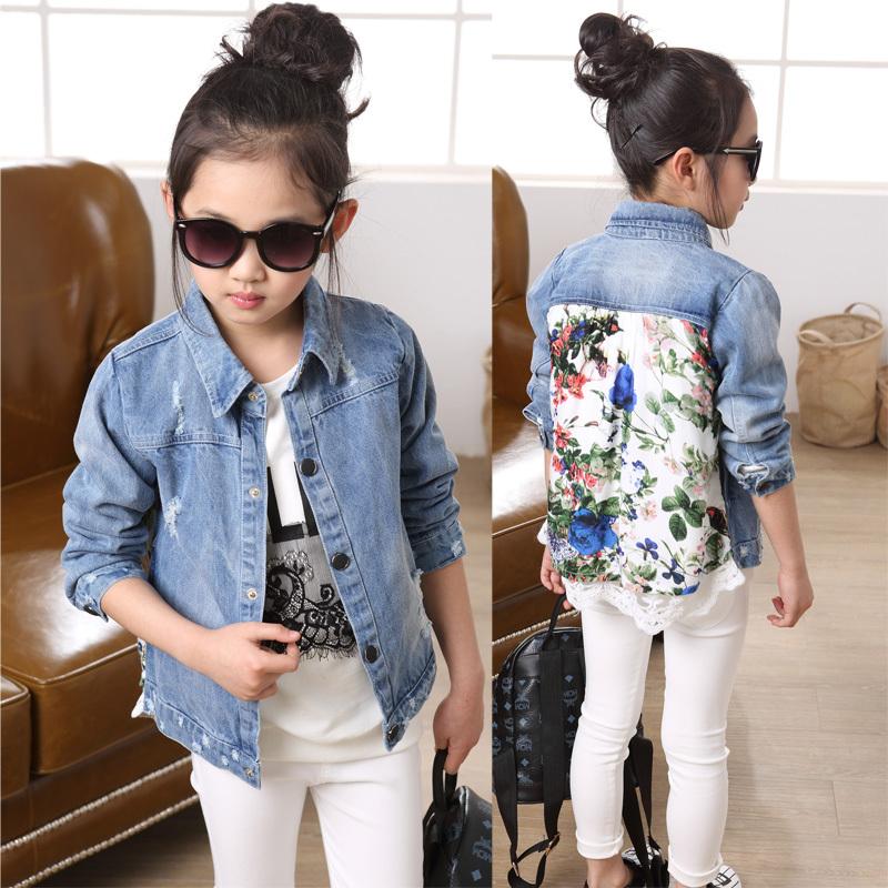 Джинсовая куртка для девочки описание