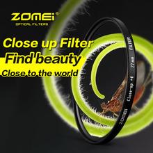 Buy ZOMEI 52 58 62 67 82mm Macro Close Filter Canon 700D 650D 600D 760D 750D 1200D 1100D 100D 70D Rebel T5i T4i Lens for $22.44 in AliExpress store