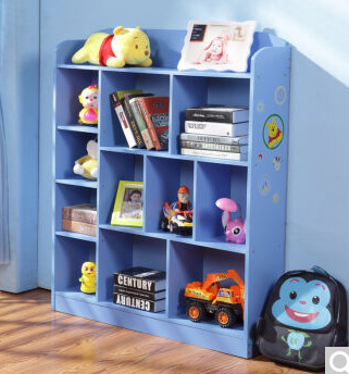 Bookcases Living Room Furniture Home Children Panel Bookcase Bookshelf Hot New Whole 2017 Blue Pink Good Price
