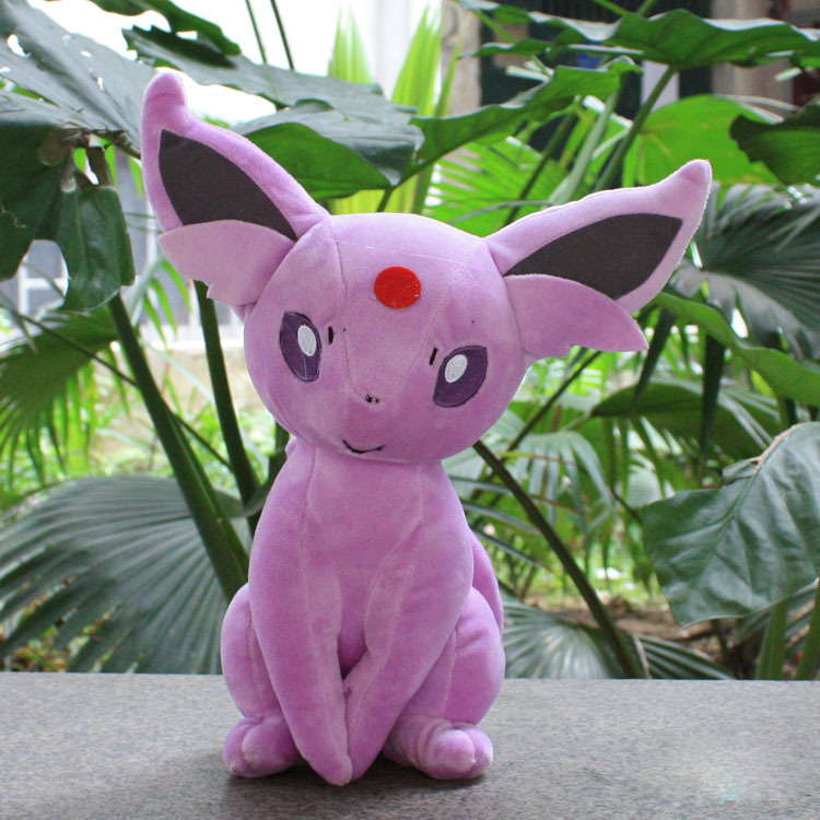 EMS 50pcs New 2013 Anime Doll Pokemon Eevee Espeon Pink Plush Toys Stuffed Toy 22cm Soft Baby Toy<br><br>Aliexpress