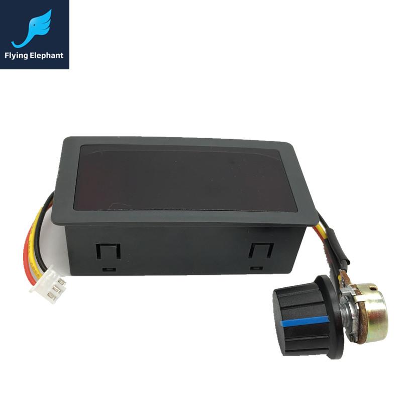 0 100 Pwm Digital Display Dc Motor Speed Controller 6v