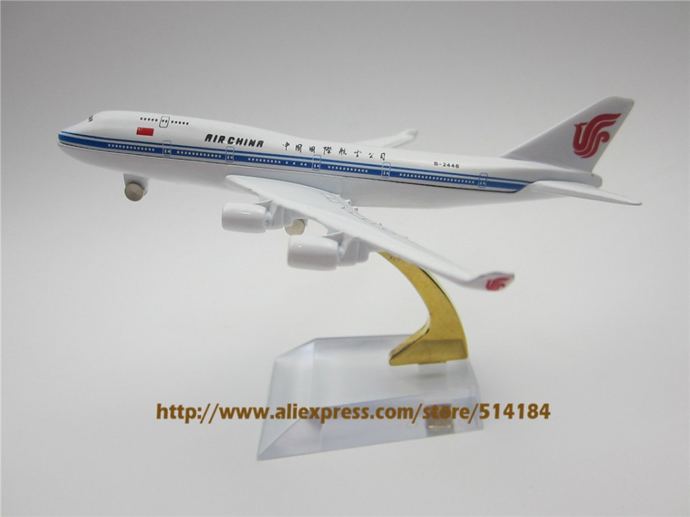 12cm Alloy Metal Air China Airline Boeing 747 B747 400 Model Aircraft Airplane Model Plane Model W Stand(China (Mainland))