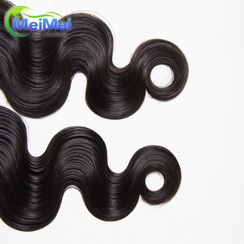 18 Inch 7A Brazilian Virgin Hair Body Wave 3 Pieces/lot 1B Brazilian Hair Bundles No Tangle 100% Brazilian Human Hair Body Wave