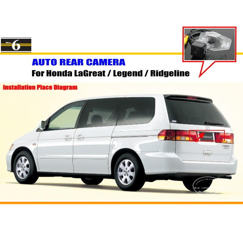 Car Parking Camera / Reverse Camera For Honda LaGreat / Legend / Ridgeline / RearView Camera / License Plate Light OEM(China (Mainland))