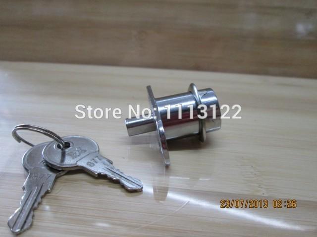 Push Plunger drawer lock with inside thread cylinder 105 Sliding door push drawer lock cabinet drawer lock 5 PC(China (Mainland))
