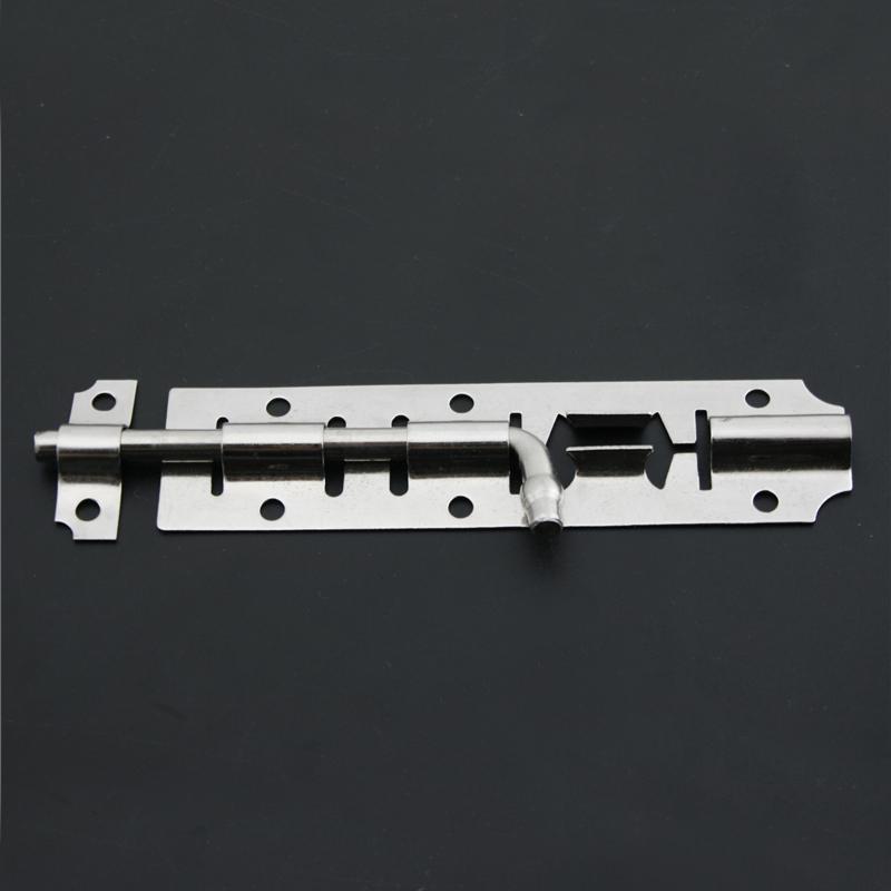 110mm*28mm 201 Stainless Steel Bolts Latch Door Window Accesories Cabinet Cupboard Burglarproof Bolt Lock Furniture Hardware<br><br>Aliexpress