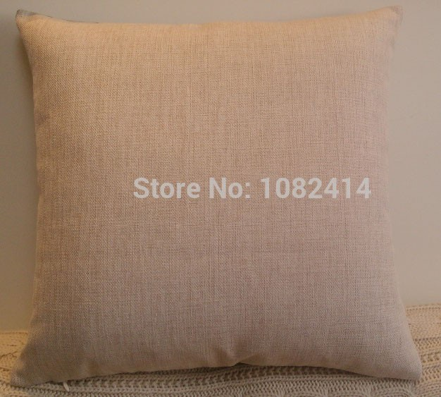 Cotton linen English alphabet PEACE JOY LOVE and simple Cushion cover with customized size
