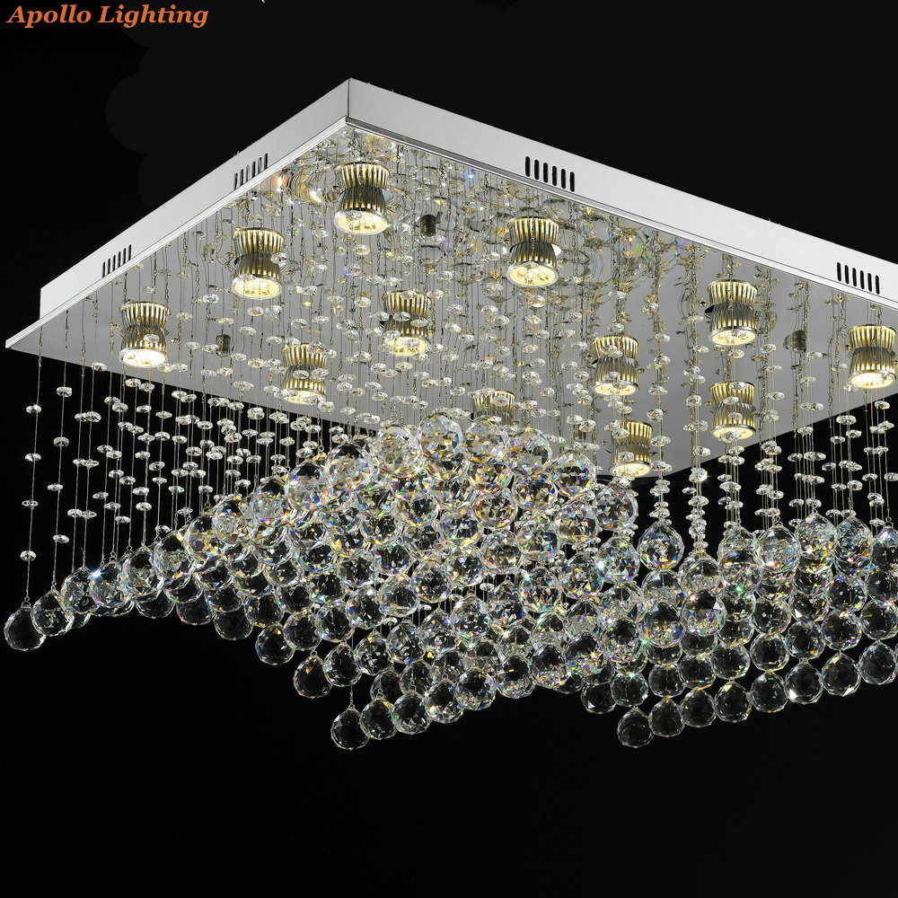 Buy modern waterford warm white gu10 led for Suspension lustre