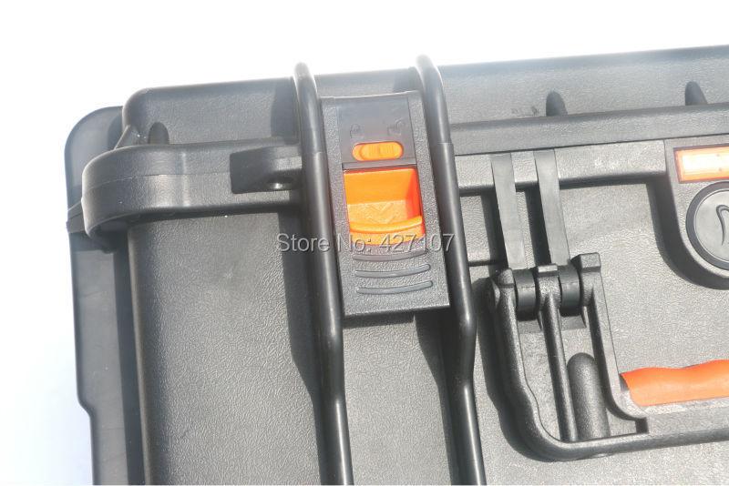 Free Fast Shipping DJI Phantom 3 Professional/Advanced Hard Plastic Waterproof Case(With Prop On)