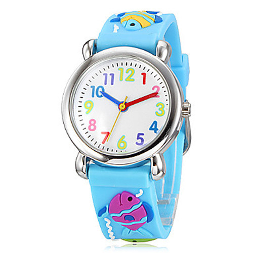 Watch for children fish Waterproof Kid Watches Brand Quartz Wrist Watch Baby For Girls Boys Fashion Casual Reloj