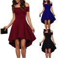 2017 Summer Dress Women Vintage Off Shoulder Party Dresses Women Sexy Elegant Tunics Midi Dresses
