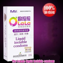 Liquid Invisible Condoms for Women Also Used As Lubricant and Cleaner Female Sex Toy Adult Sex Toys for Couples Sex Prosucts(China (Mainland))