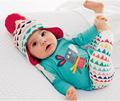 2016 Baby boy girl clothes Long sleeve T shirt pants 2 pcs suit newborn clothes baby