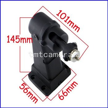 2x New Hot  Black Iron Metal CCTV bracket for CCTV camera of middle-size and small-size