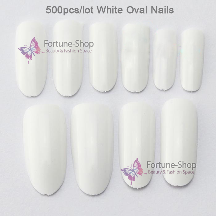 Накладные ногти Unbranded 500 /fullwell Oval nail tips