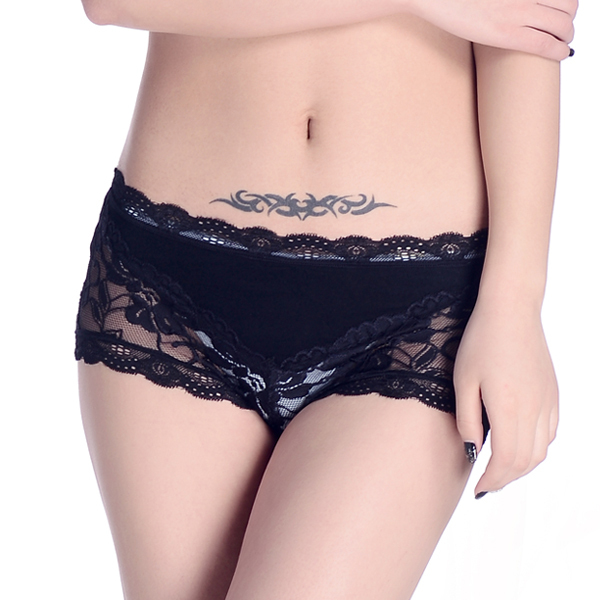 Sexy bamboo hipster women knickers hot bamboo underwear sexy lady panties bamboo undergarment wholesell underpants short brief(China (Mainland))
