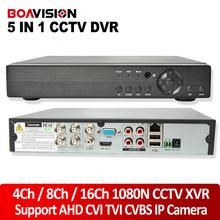 Buy 5 IN 1 AHD CVI TVI CVBS NVR 4Ch 8Ch 16Ch 1080N Security CCTV DVR NVR XVR Hybrid Video Recorder 1080P Onvif Max 4TB P2P View for $49.77 in AliExpress store