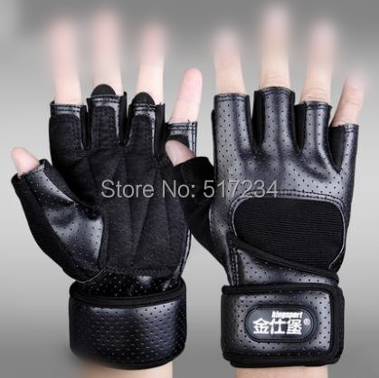 2015 Fitness Gloves Half Finger Sports Bodybuilding Weightlifting Gym Multifunction - Howard Liu's store