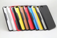Rainbow Soft Back Cover Silicone Plastic Neo Hybrid Case for iPhone 6 6S 4.7″ Bumblebee Cover for iPhone6 real shot pic